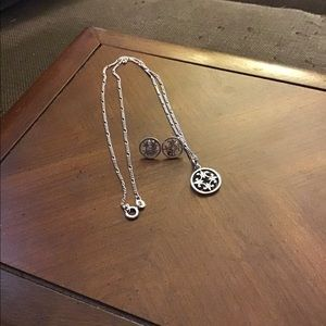 Jewelry - Celtic knot necklace and earrings
